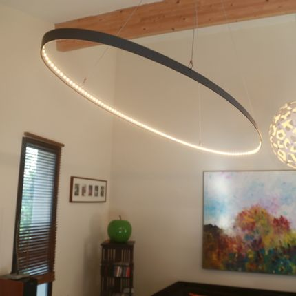Hanging lights - Oval - L'ARTISAN DES LUMIÈRES