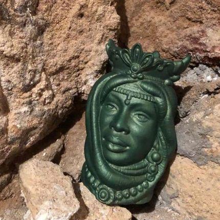 Céramique - Dame verte - MNEMOS