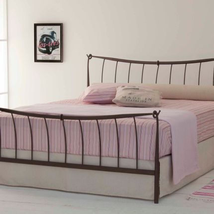 Beds - High-end design Handmade iron bed - Model Alexandra - VOLCANO - HANDMADE IRON BEDS
