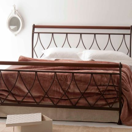 Beds - Modern style Handmade iron bed - Model Elina - VOLCANO - HANDMADE IRON BEDS