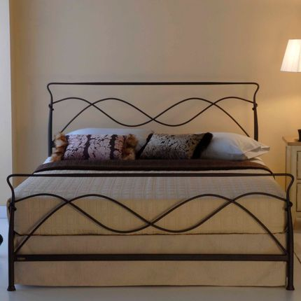 Beds - minimalist style Handmade iron bed  - Model Avra - VOLCANO - HANDMADE IRON BEDS