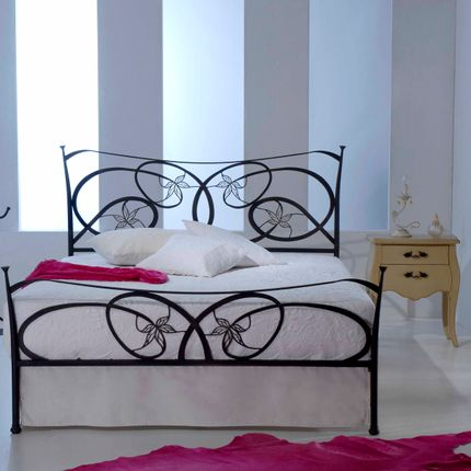 Lits - Handmade high-end design - Model Garden - VOLCANO - HANDMADE IRON BEDS