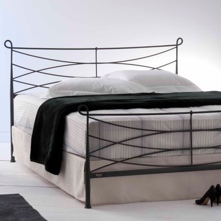 Beds - minimalist style Handmade iron bed - Model Toxo - VOLCANO - HANDMADE IRON BEDS