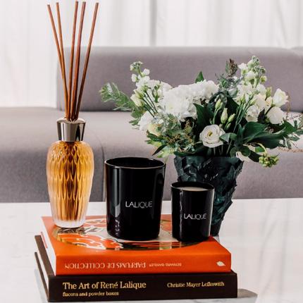 Diffuseurs de parfums - ODYSSÉE, DIFFUSEUR CRISTAL - LALIQUE VOYAGE DE PARFUMEUR