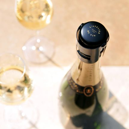 Wine - Metal Gard'Bulles Stopper - L'ATELIER DU VIN