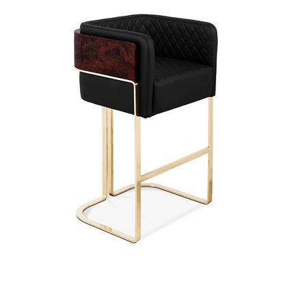 Stools - NURA BAR CHAIR - LUXXU