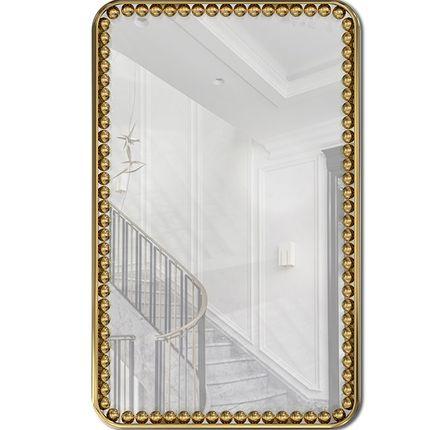 Mirrors - ORBIS RECTANGULAR MIRROR - LUXXU