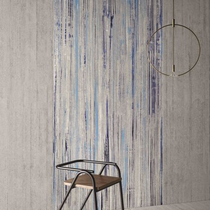 Fayence tiles - BLUE FALLS _ Kontinua - CASALGRANDE PADANA