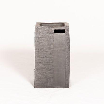 Céramique - sculpture monolithe - ATELIER ENTRE TERRES