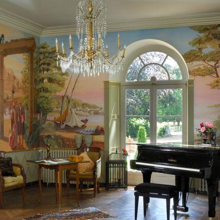 Fresques décoratives - Panoramiques classiques - FABIENNE COLIN PEINTRE