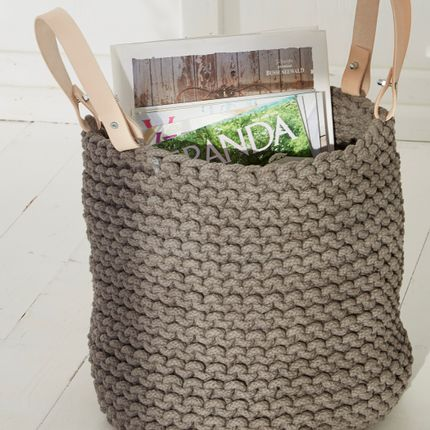 Storage box - knitting basket - DAHLENBURG