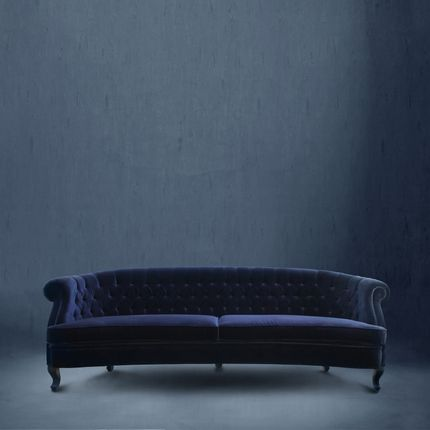 sofas - Maree Classic Blue Sofa - Pantone Colour of the year 2020 - BRABBU DESIGN FORCES