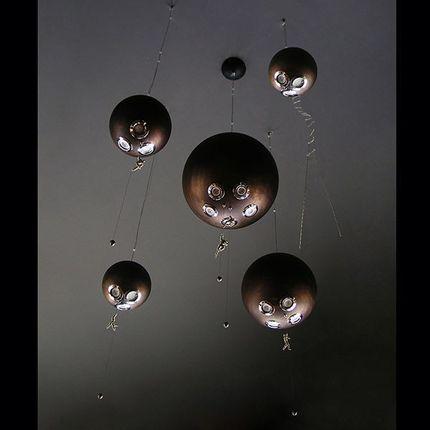Hanging lights - Planetarium 5  - F+M FOS