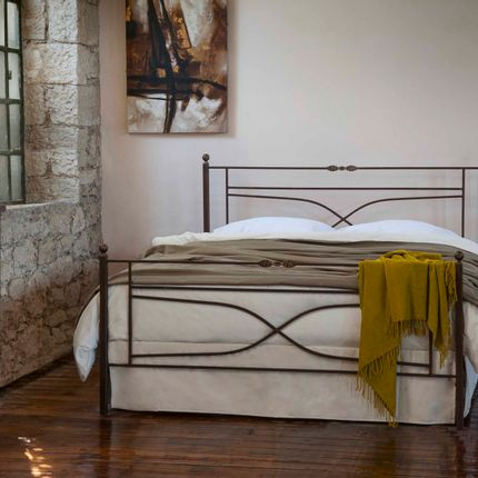 Beds - Blacksmith style Handmade iron bed of - Model Vienna - VOLCANO - HANDMADE IRON BEDS