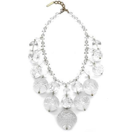 Jewelry - Crystalline Bib Necklace - DOUGLASPOON