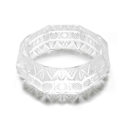 Jewelry - Etched Octagon Bangle - DOUGLASPOON