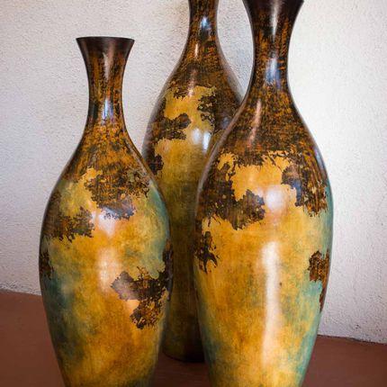 Poterie - Vase poterie décoration d'intérieur JJG005 Petite - AMADERA