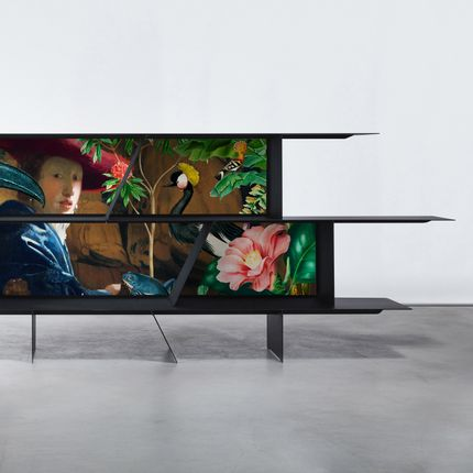 Consoles - Konsol lacquered steel - ARCHIKONSOL