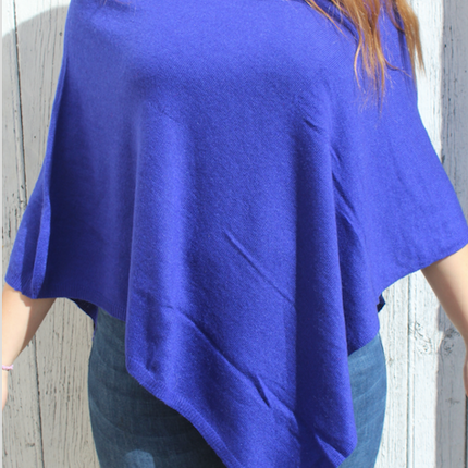 Ready-to-wear - Poncho in Cashmere - PECHAAN