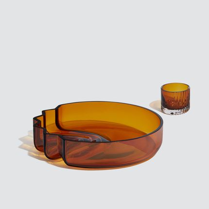 Design objects - Pulse - Platter  - ZAHA HADID DESIGN