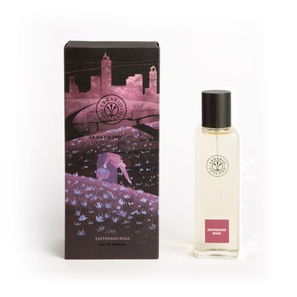 Fragrance for women & men - Eau de parfum Zafferano Rosa 100ml - ERBARIO TOSCANO