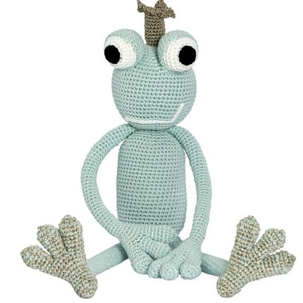 Peluches - King Froggy - Mint - LEGGYBUDDY