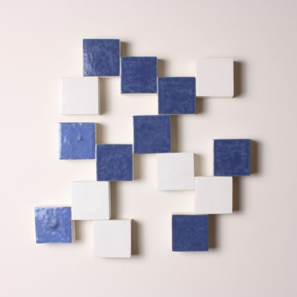 Wall decoration - Mural Bleu - ATELIERNOVO