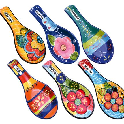 Platter, bowls - LINEA FUSION - CERAMICA DEL RIO SALADO
