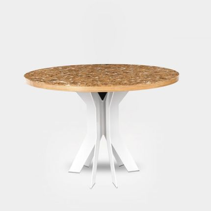 Tables - Cork Decor White - MIGALOO HOME