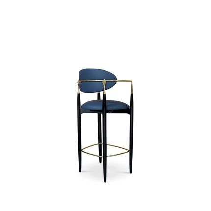 Chaises - Nahéma Bar Stool - KOKET