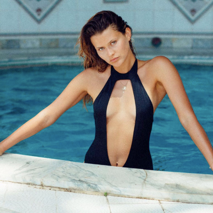 Ready-to-wear - Black Chloé One Piece Swimsuit  - BLEU DE VOUS