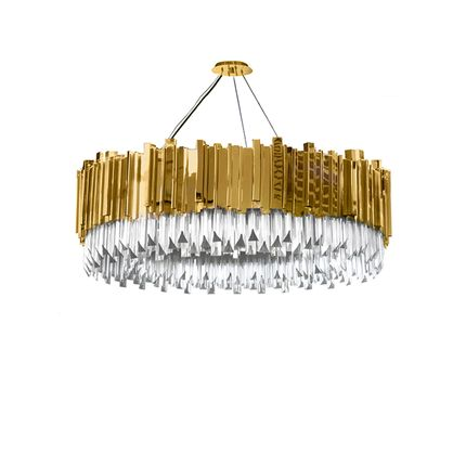 Pendant lamps - Empire Suspension Lamp  - COVET HOUSE