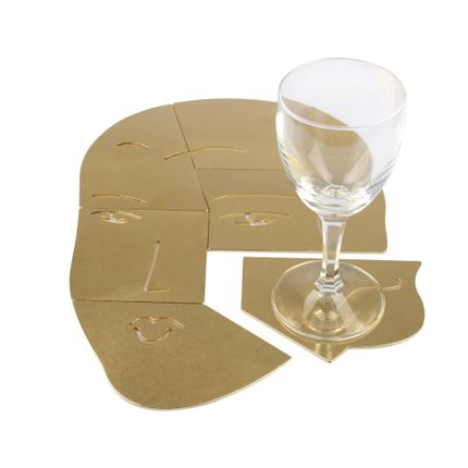 Design objects - THE EMPATHIST - Puzzle Coaster - MUY