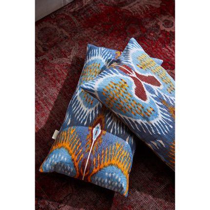 Cushions - Artemis Dots Double Sided Ikat Cushion  - HERITAGE GENEVE