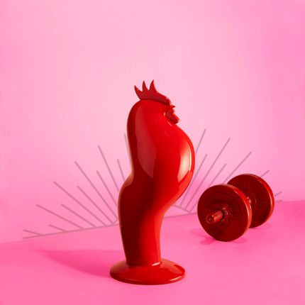 Objets design - Coq'ART Version Rouge - EMMANUEL OGER