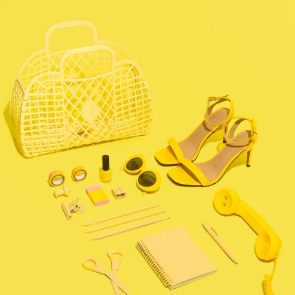 Bags / totes - Retro basket - SUN JELLIES