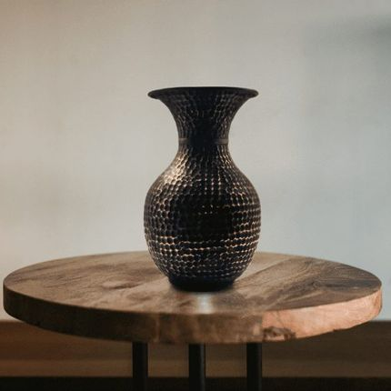 Vases - Damask vase made of solid copper - MAISON ZOE
