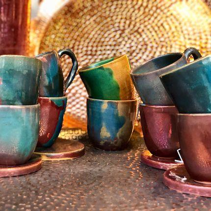 Tasses et mugs - Alexo tasses espresso - MAISON ZOE