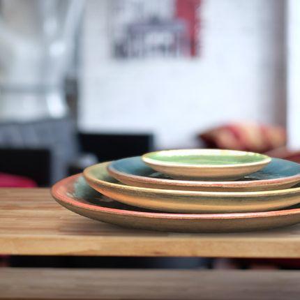 Pottery - Luisa deco plate set - MAISON ZOE