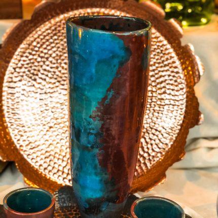 Vases - Zoe Ceramic Vase - MAISON ZOE