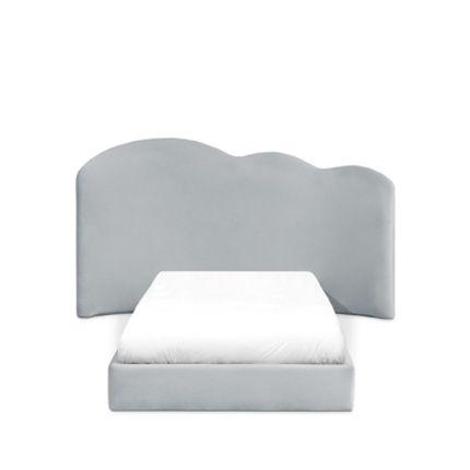 Children's bedrooms - Cloud Bed Gray - CIRCU