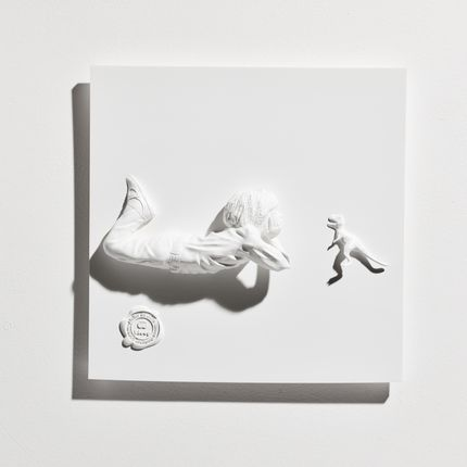 Wall decoration - Boy & the Dino Resin Artwork - BLOOP