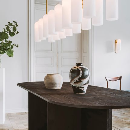 Ceiling lights - Odyssey Linear Chandelier SM - SCHWUNG HOME