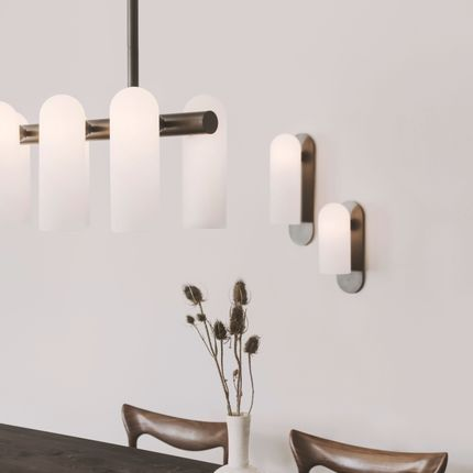 Ceiling lights - Odyssey Linear Chandelier LG - SCHWUNG HOME