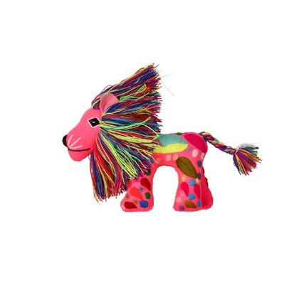 Decorative objects - Magic Lion Puppet - PINK PAMPAS