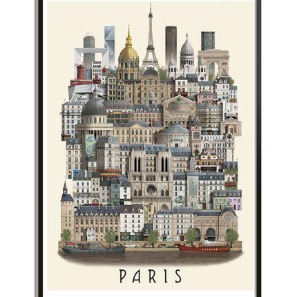 Poster - Paris poster - MARTIN SCHWARTZ