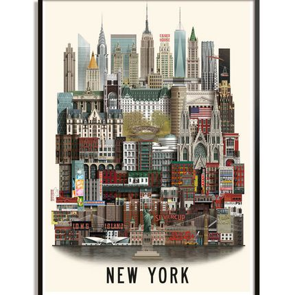 Poster - New York poster - MARTIN SCHWARTZ