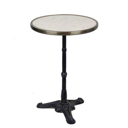 Tables - Table de bistrot en marbre - BONNECAZE ABSINTHE & HOME