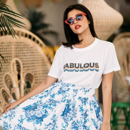 Ready-to-wear - TSHIRT FABULOUS USA - FABULOUS ISLAND LTD