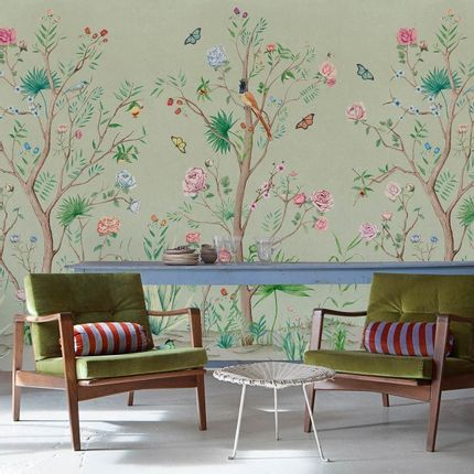 Wall coverings - Peonies Panel - ETOFFE.COM